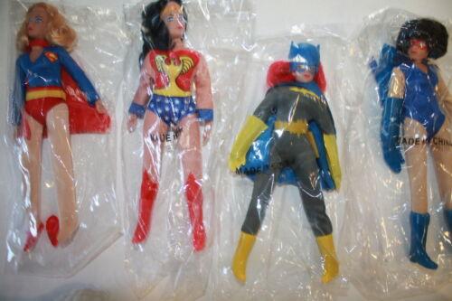 Rétro MEGO 8; les chauves-souris environ 20.32 cm figures polybag 8 in wonder woman Supergirl; catwoman