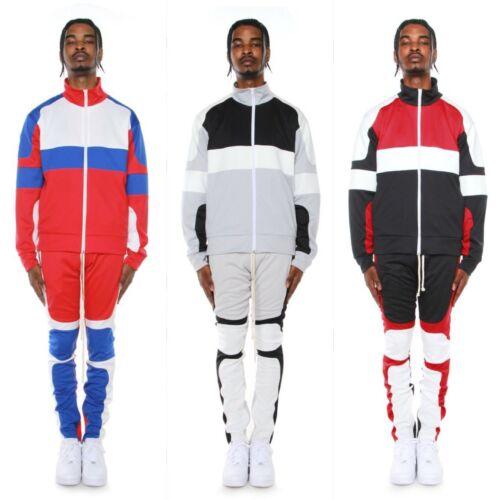 New EPTM Men/'s Color Block Motocross Track Pants and Jacket set