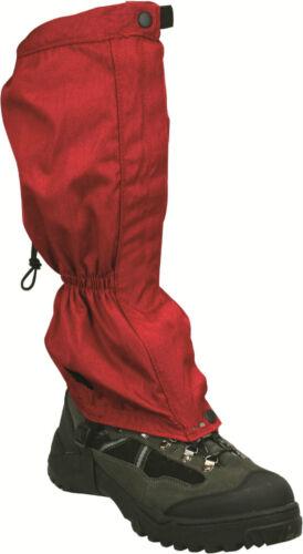 NOUVEAU Highlander Ripstop Port rigide hiver //été marche Guêtre Rouge gat001