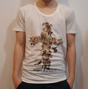 RELIGION-Flower-Cross-T-Shirt-in-Broken-White