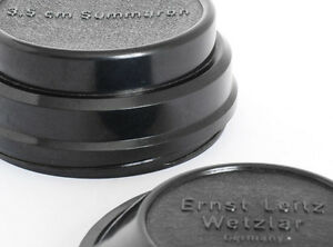 Leica-Leitz-Bakelit-Objektiv-Halter-fuer-3-5cm-Summaron-1940s-neuwertig