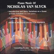 Piano Music of Nicholas Van Slyck
