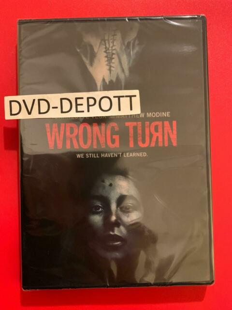 Wrong Turn The Foundation (DVD,2021)  AUTHENTIC Brand New FAST Free Shipping
