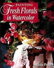 Painting Fresh Florals in Watercolor by Arleta Pech