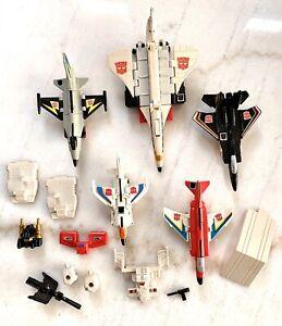 Transformers Superion Aerialbots Vintage G1 Set (1986)