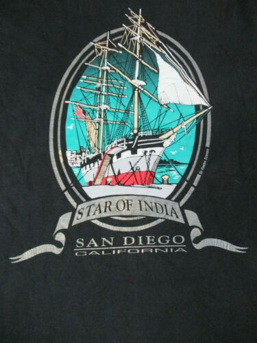 VINTAGE STAR OF INDIA SHIP SAN DIEGO CALIFORNIA MU