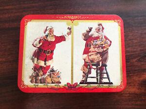 SEALED DECKS 1994 CHRISTMAS SANTA COCA COLA Nostalgia Playing Cards