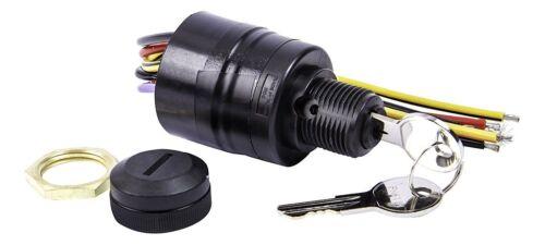 Sierra MP41090-1 Push-Choke Ignition Key Switch 3Pos Off-Run-Start PUSH TO CHOKE