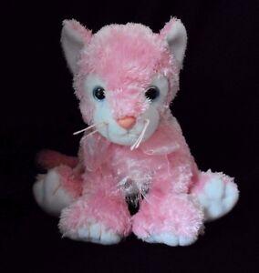 326bd23857e Ty Pink CARNATION Plush Kitten Cat 10