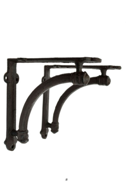 Cast Iron Rustic Arch Wall Shelf