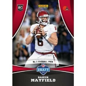 b32d01d49 Image is loading 2018-Panini-Instant-Baker-Mayfield-Draft-Night-Rookie-