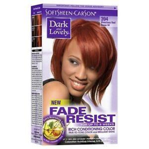 Details About Dark And Lovely Vivacious Red Permanent Hair Dye