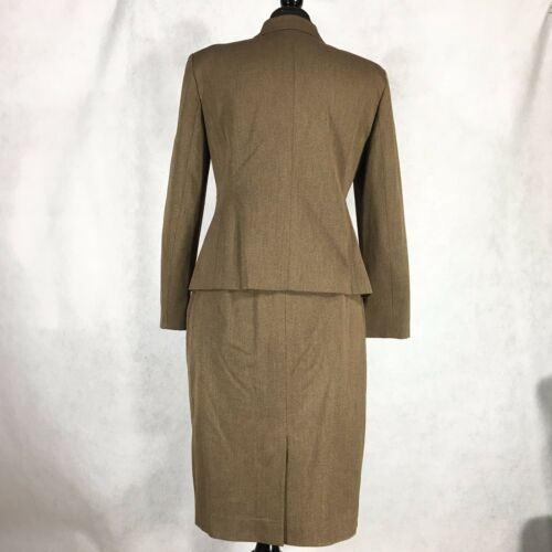 Barleycorn Brown Rayon York Suit Skirt Petite Jones New Poly Blend 8p Womens qnXxpCFwW