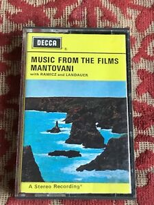 music-from-the-films-mantovani-cassette