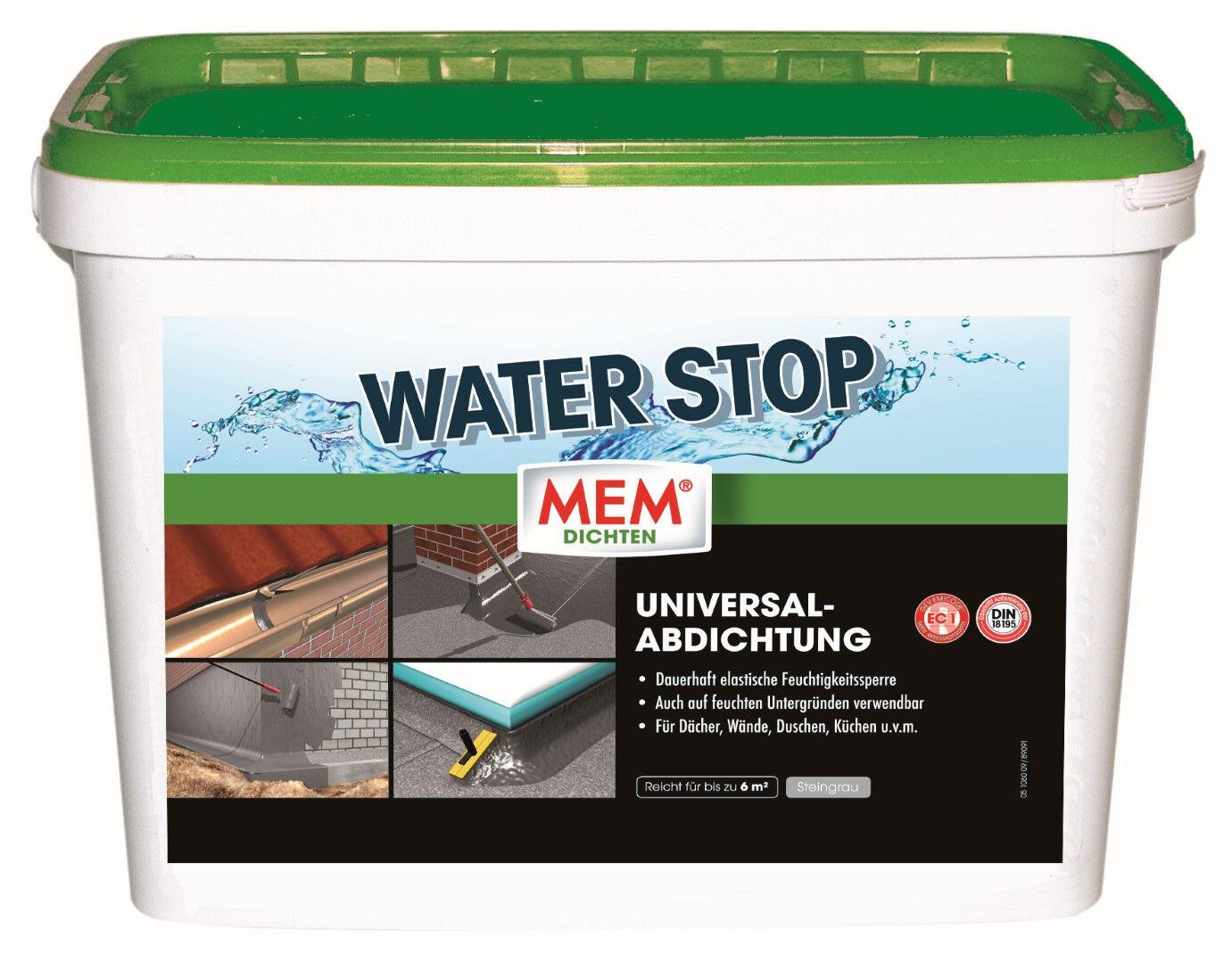 MEM Water Stop 14 kg Wasserstop Wandabdichtung