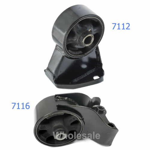 Engine Motor Mount 2PCS For 03-08 Hyundai Tiburon 2.7L Manual 7112 7116 M1267