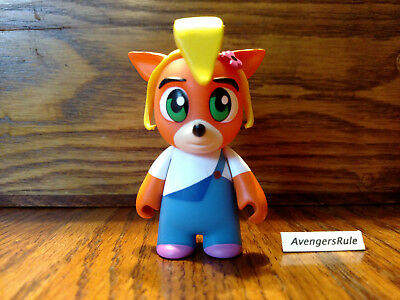 "NEW 2018 Kidrobot Crash Bandicoot Mini Series 3/"" Vinyl Coco Bandicoot Figure"