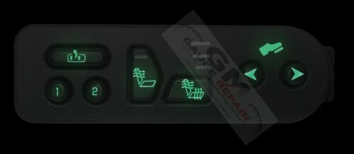 10 ct Green LED/'s for GM switches 03-06 heated seats overhead console r climate