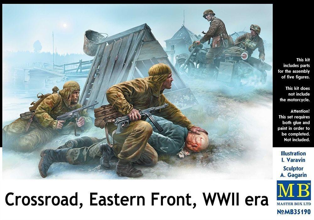 MASTERBOX CROSSROAD EASTERN FRONT WWII WWII WWII ERA Scala 1 35 cod.35190 26de86