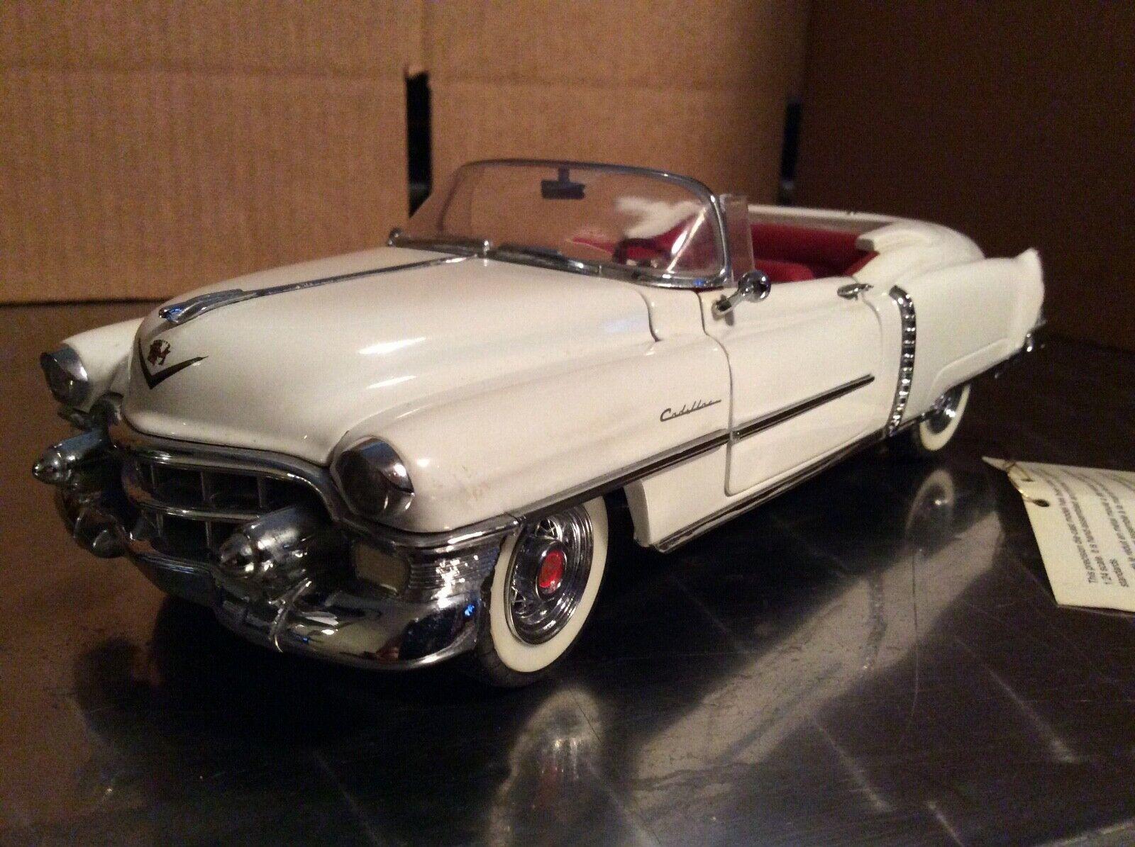1953 Cadillac Eldorado Weiß Frankinl Mint 1 24 Lose Display Nice