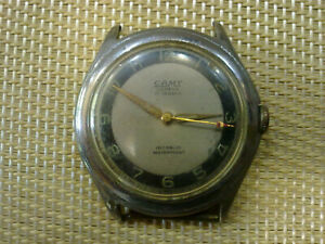 Vintage-SWISS-MADE-MEN-Wrist-Watch-CAMY