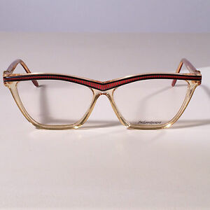 VINTAGE-Yves-Saint-Laurent-RARITY-Eyewear-Frame-Hyrtios343V