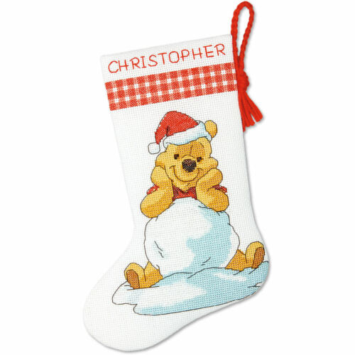 Winnie The Pooh Eeyore Stocking Pluto Mickey Dimensions Cross Stitch Kit