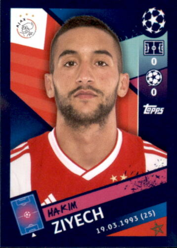 Topps Champions League 18//19 Sticker 537 Hakim Ziyech