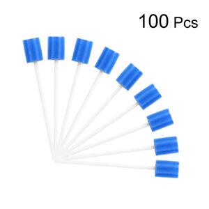 100-pezzi-Monouso-Tamponi-di-Spugna-Igiene-Orale-Pulizia-dei-Denti-Bocca
