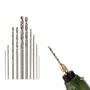10Pcs-HSS-High-Speed-White-Steel-Twist-Drill-Bit-Set-For-Rotary-Tool