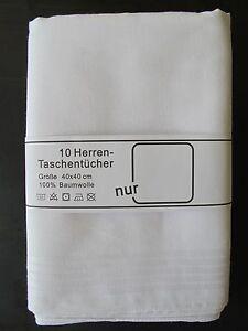 10-Taschentuecher-weiss-Mako-Baumwolle-100-Herrentaschentuecher