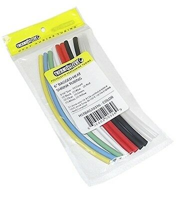 Thermosleve Heat Shrink Tubing Assortment 28Z215 160 pieces