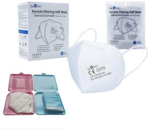 20x FFP2 Maske Dr.ITC zertifiziert Atemschutzmaske CE0370 inkl. Aufbewahrungsbox