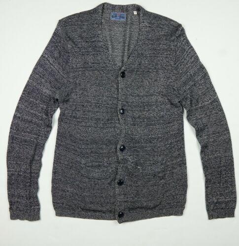Blue Blue Japan Cotton Rayon Pure Indigo Knit Car… - image 1