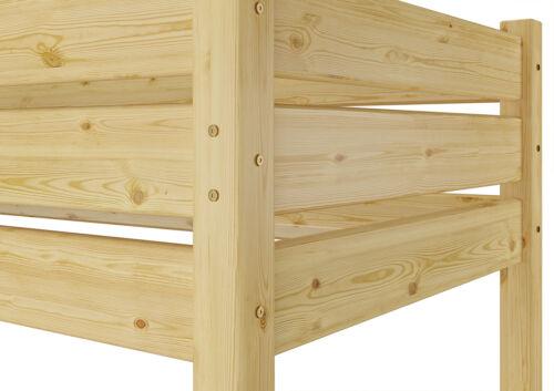 Etagenbett Erwachsene extra stabil 90x200 Nische 100 cm mit 2 Rollroste 60.16-09