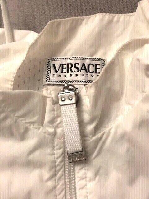 "VERSACE INTENSIVE SET Vintage BL0USE AND PANTS M ""AUTHENTIC  RARE"
