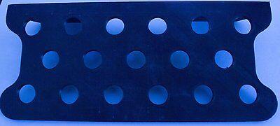 """Black Straight Frag Freaks Magnetic Frag Rack 5/"""" x 3.5/"""""""