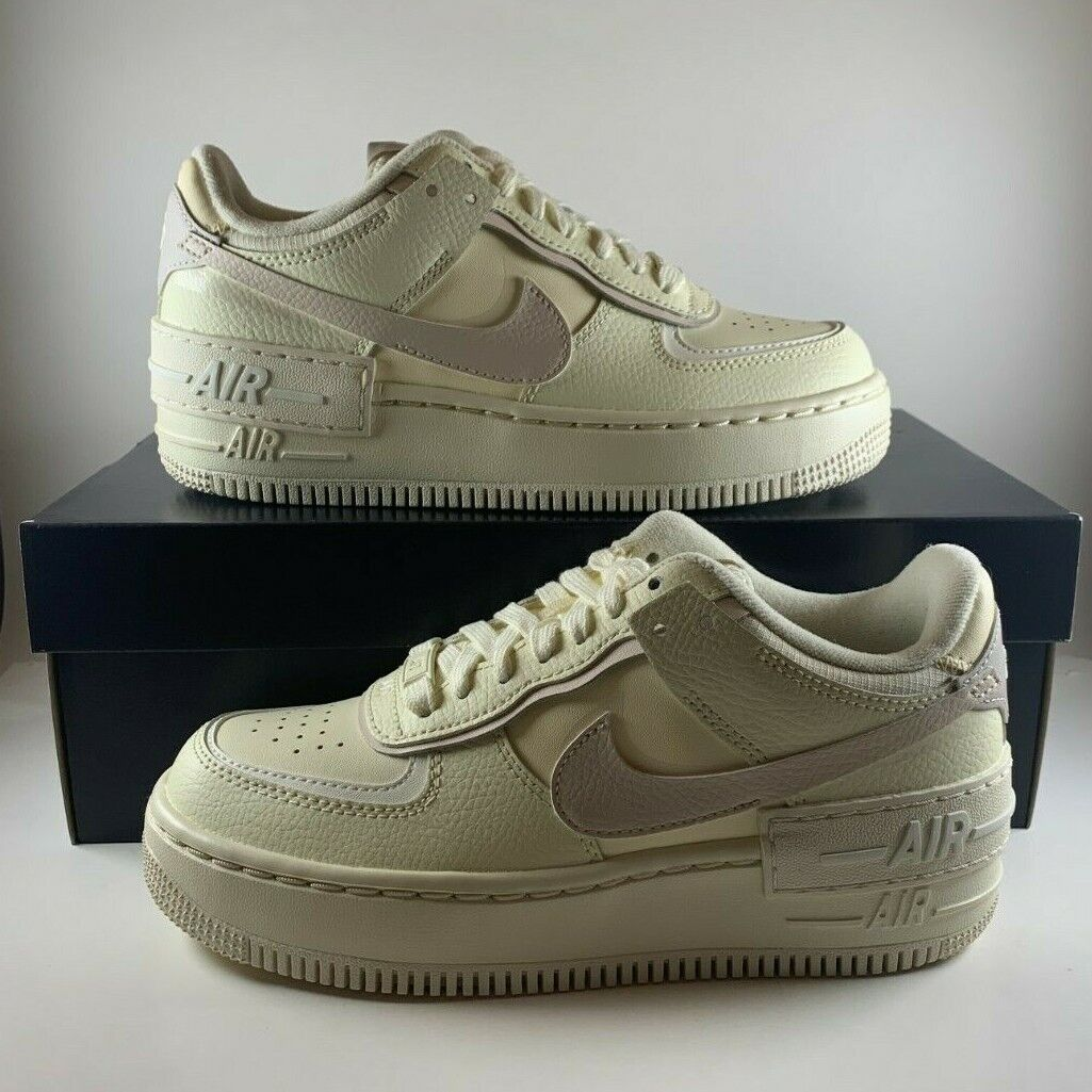Size 6 - Nike Air Force 1 Low Shadow Coconut Milk/Desert Sand/Sail ...