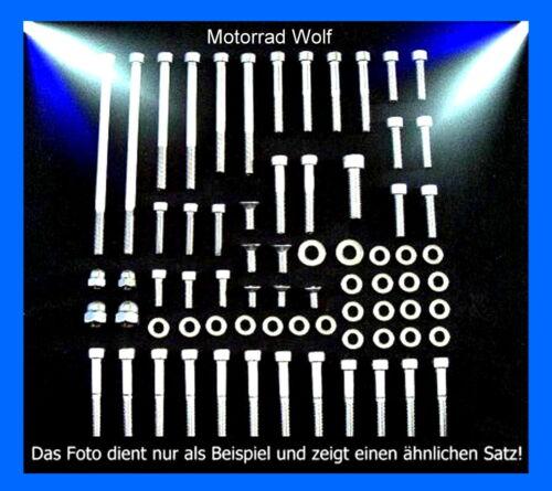 Motorschraubensatz Honda VT 600 750 C Shadow V2A Edelstahl Schrauben Motor NEU