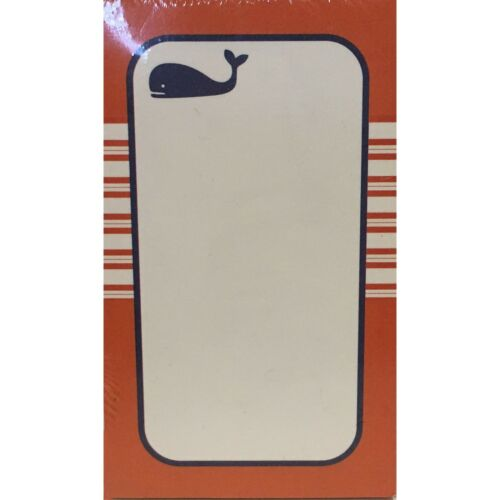 Wellspring #186 HAMPTON WHALES Short Paper Note Pad Refills for Auto Note Visor