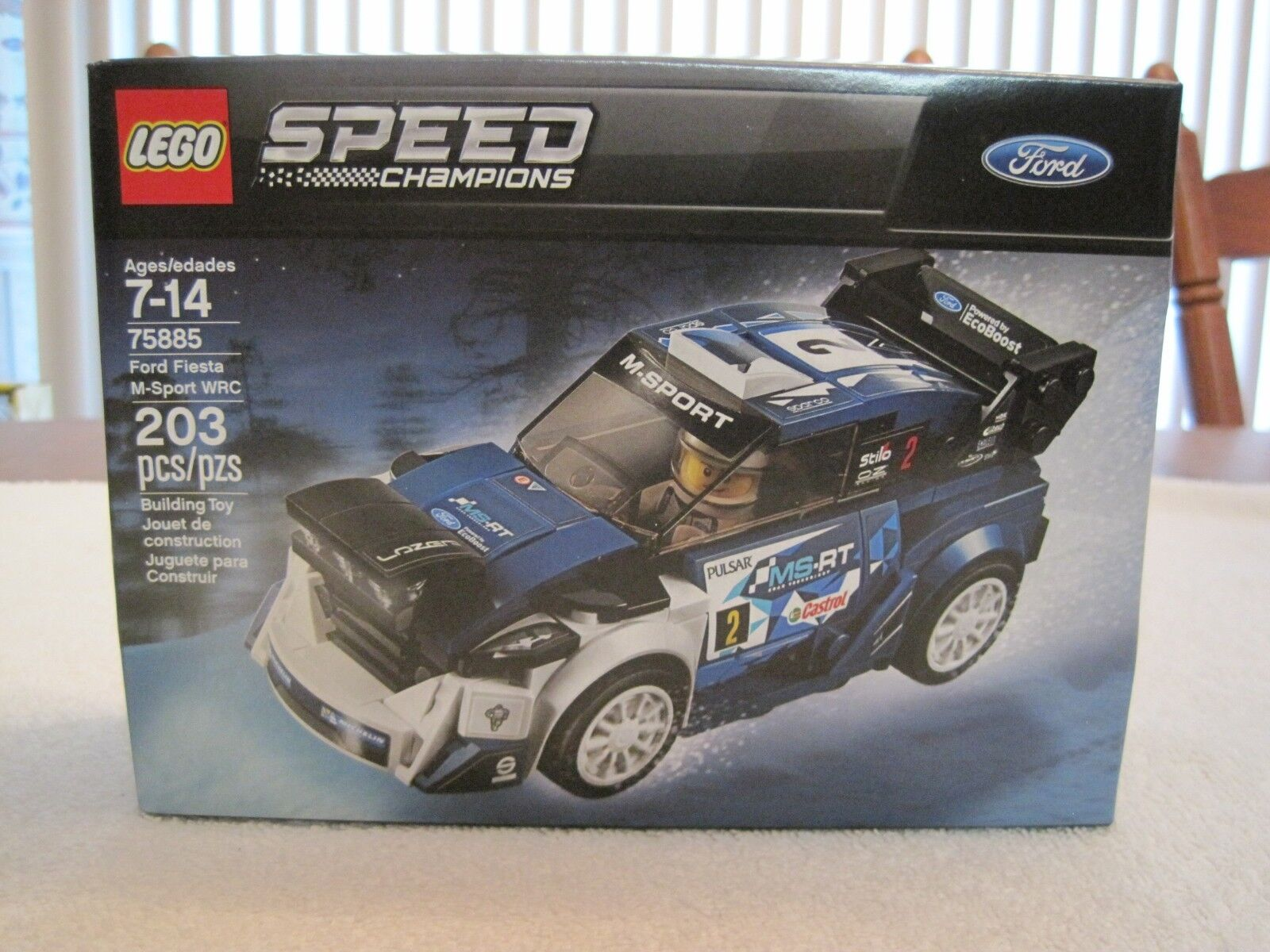LEGO 75885 SPEED CHAMPIONS FORD FIESTA M-SPORT WRC--NEW--FACTORY SEALED