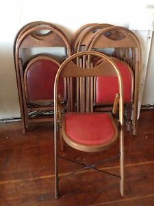 Image Is Loading Vintage Antique Solid Wood Folding Bentwood Style Chair