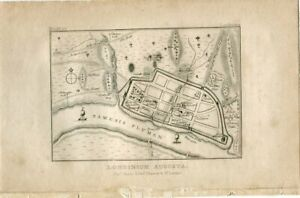Londinium-Augusta-Engraving-Published-By-Thoms-Hurst-IN-1812