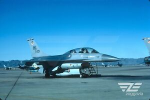 Original-slide-79-421-Lockheed-F-16B-U-S-Air-Force-USAF-1983
