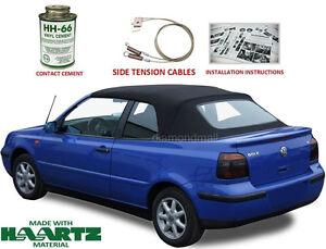 Image Is Loading Volkswagen Golf Cabrio Cabriolet 1995 2001 Convertible Soft