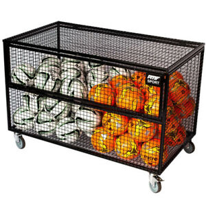 Genial Details About Heavy Duty Sports Equipment Storage Trolley For Schools