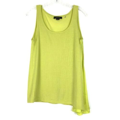 Christopher Fischer Sweater Tank womens S Yellow 1
