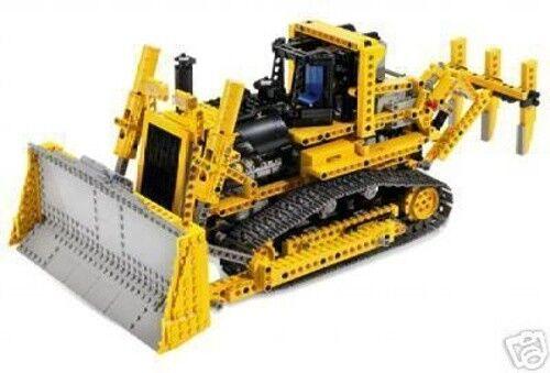 LEGO Technic 8275 - RC Bulldozer mit Motor   Motorized Bulldozer - mit BA Manual