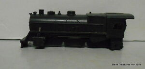 HO Scale Steam Locomotive Engine Hull with Motor