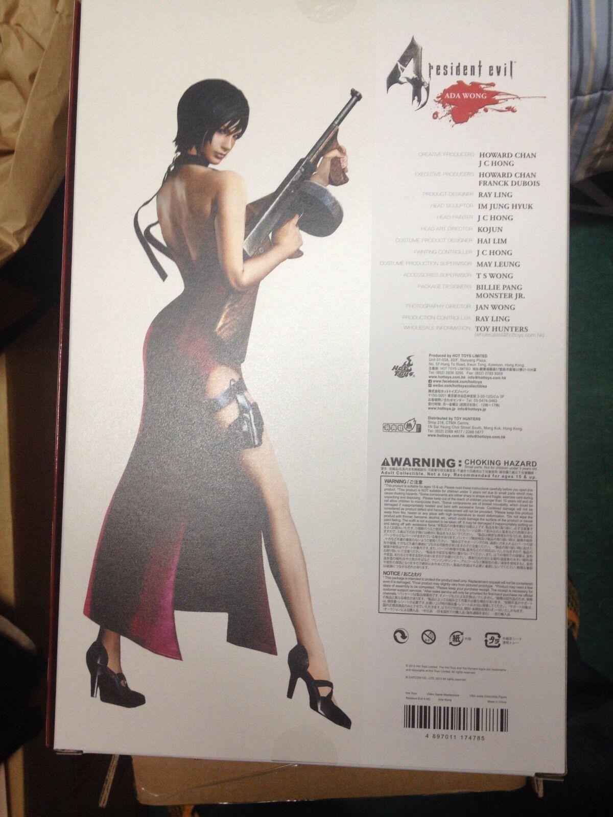 Hot Toys Resident Evil 4 ADA WONG 12